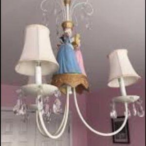 Disney Princess Chandelier  Ceiling mount